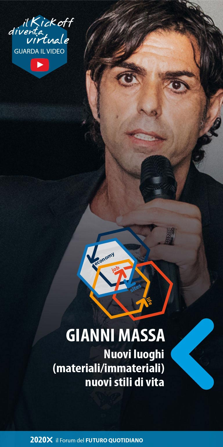 Gianni Massa - kick off 13 marzo 2020