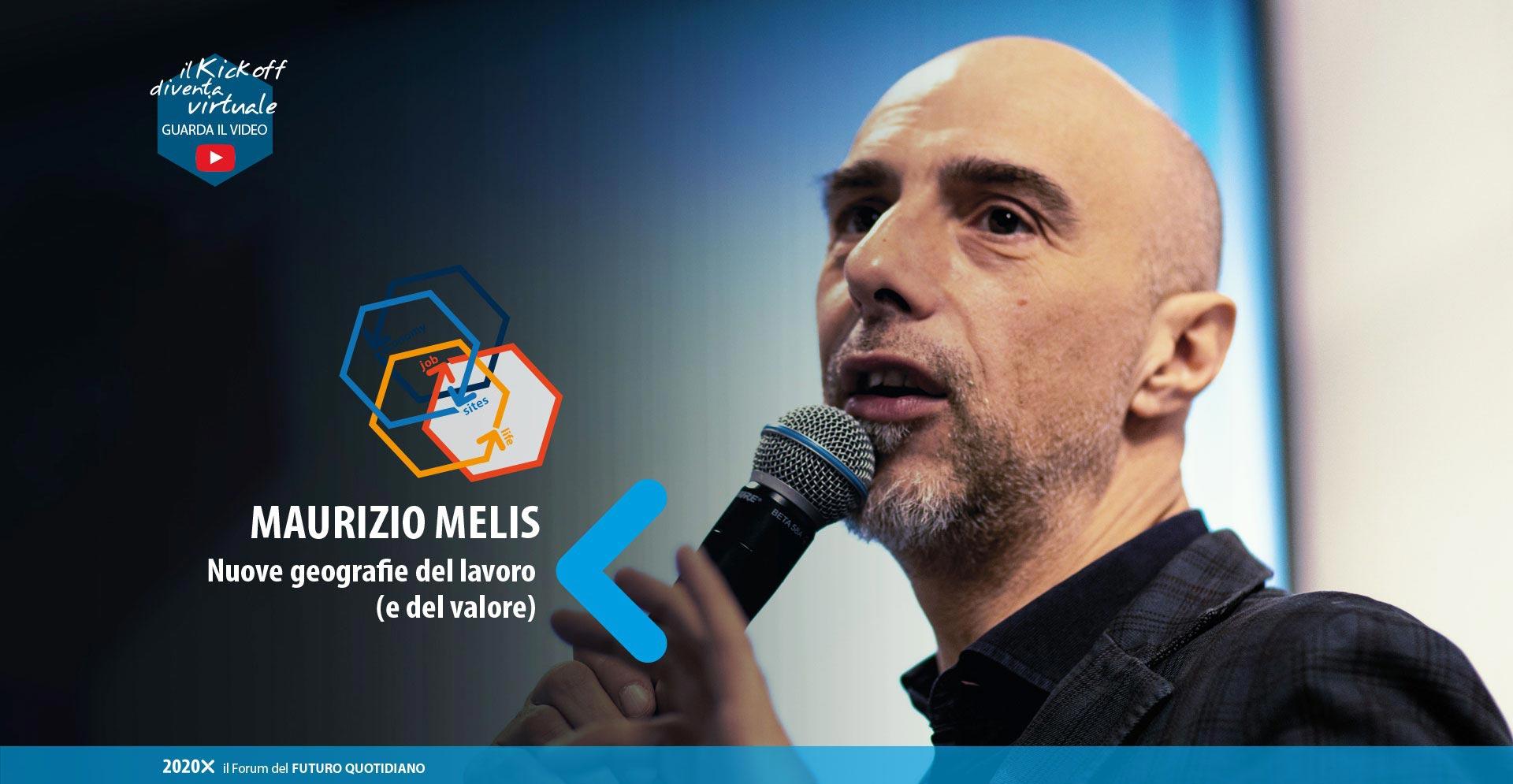 Maurizio Melis - kick off 13 marzo 2020