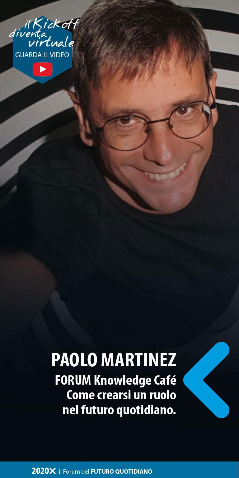 Paolo Martinez - kick off 13 marzo 2020